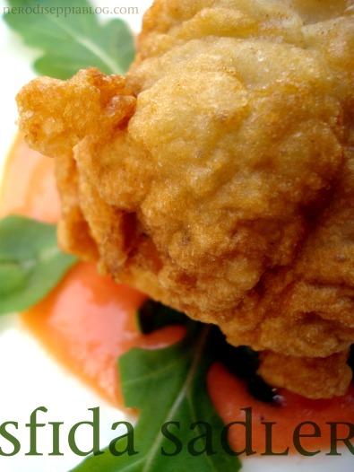 frittelle carciofi mozzarella bufala sadler