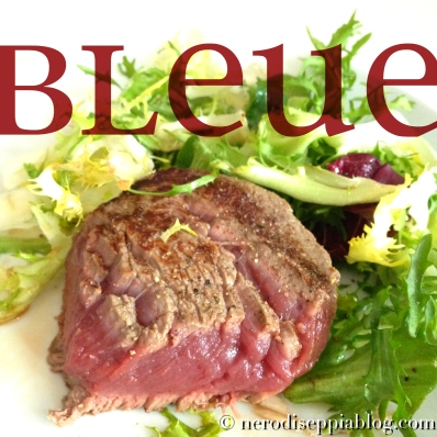 filetto cottura bleue
