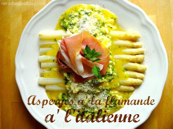 asparagi alla fiamminga all'italiana