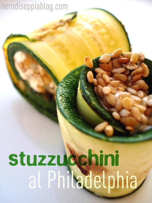 Stuzzichini di zucchine al philadelphia