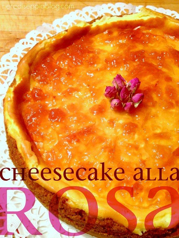cheesecake alla rosa