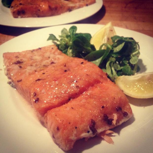 salmone bassa temperatura
