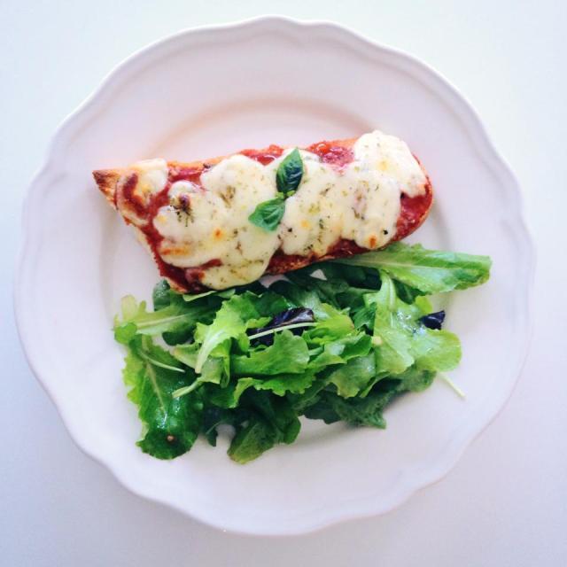 pizza-baguette