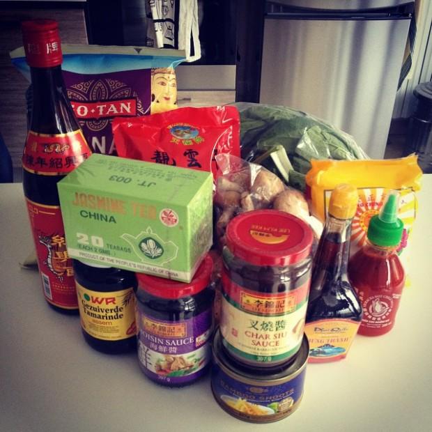 ingredienti cinesi