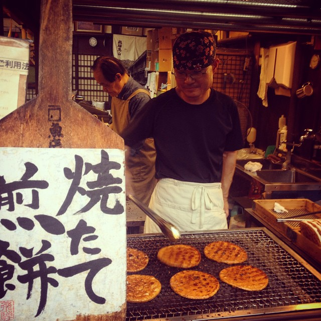 rice crackers-street food-takayama