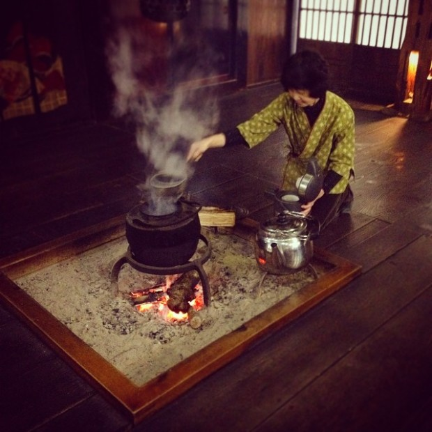 tea-kanda house-shirakawa-go-japan
