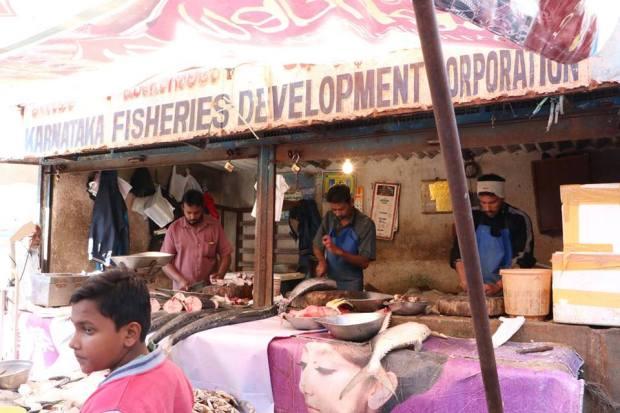 Russell market Bangalore India